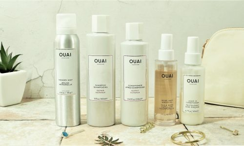 Here are the ouai products that I love to use to protect my hair.