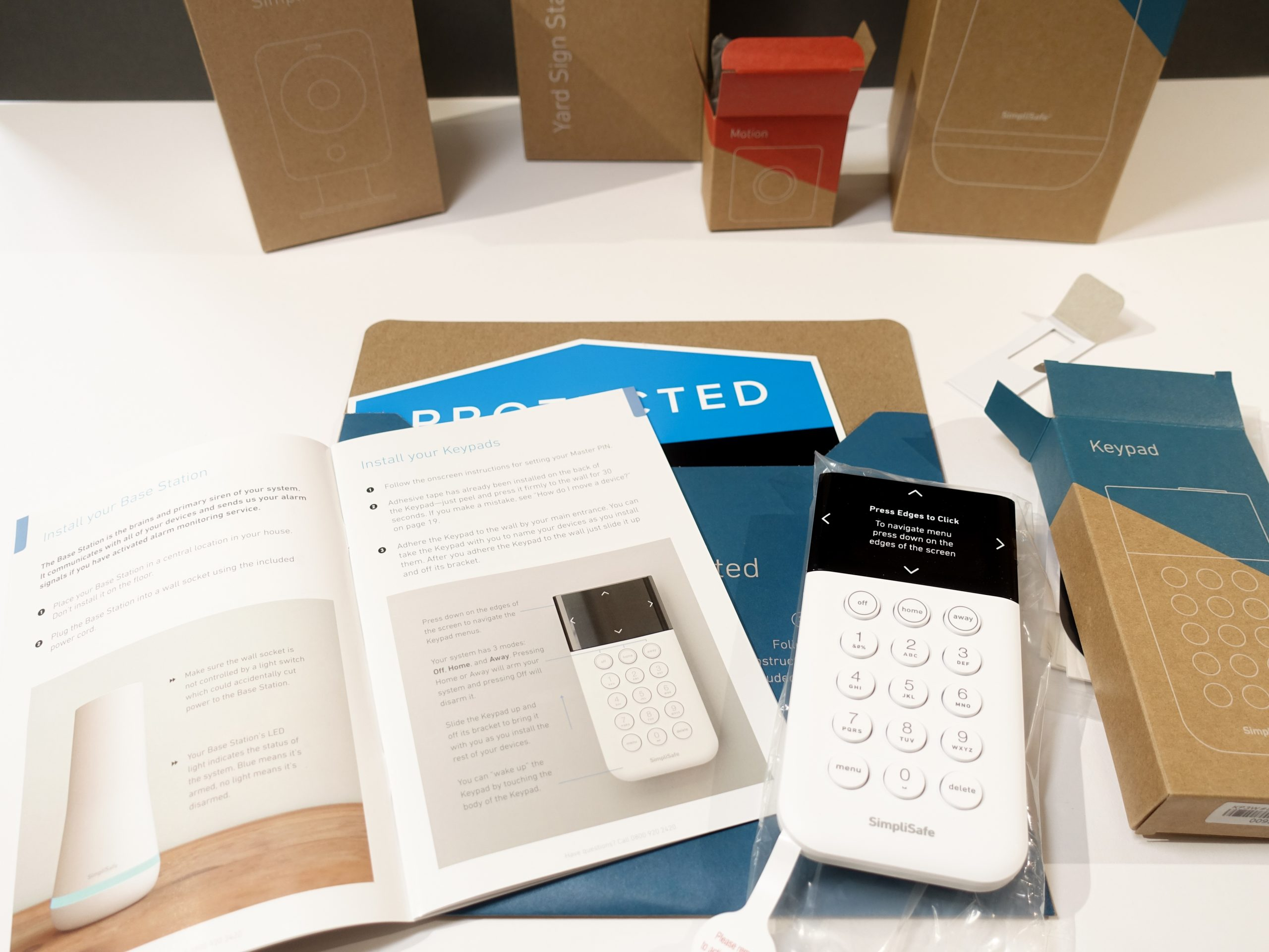 Getting Started 1 (SimpliSafe Kit)