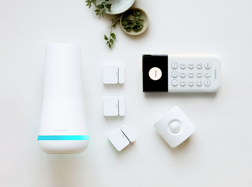 SimpliSafe kit example